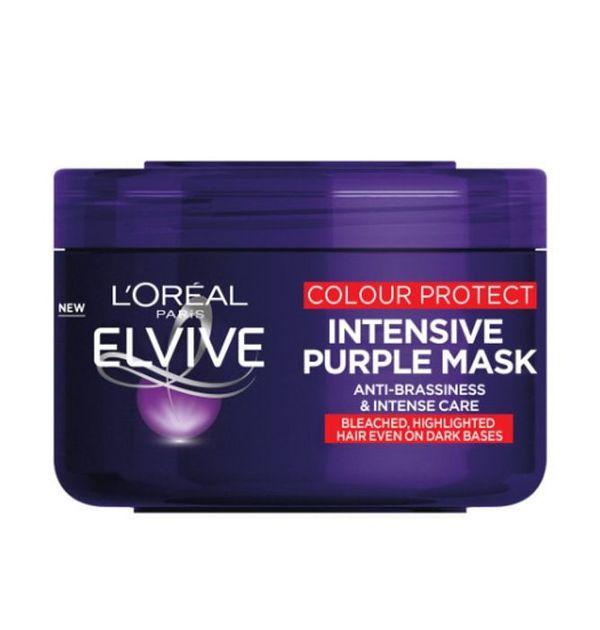 L'Oreal Paris Elvive Colour Protect Purple Intensive Mask