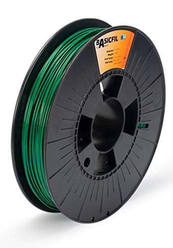 BASICFIL PLA 1.75mm, 500 gr, 3D printing filament , Green