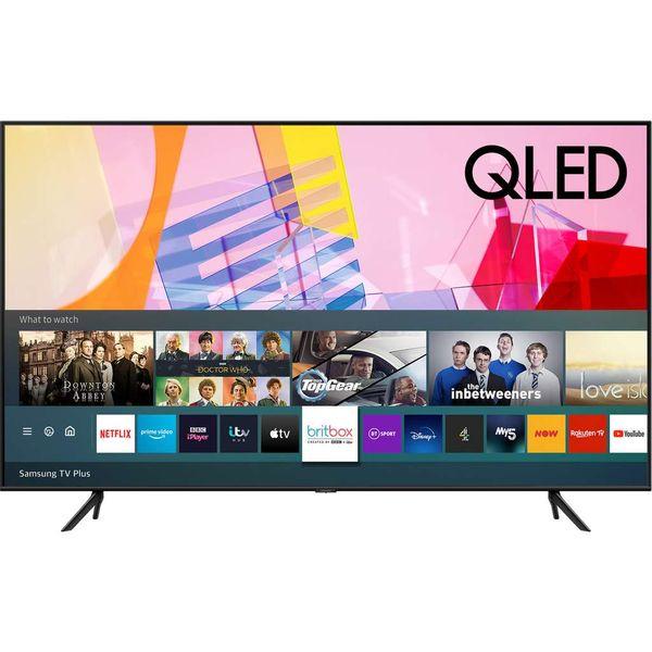 Save £29.45 - Samsung QE50Q60TA Q60T 50 Inch Smart 4K Ultra HD QLED Freeview HD and Freesat