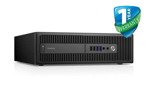 HP Desktop PC EliteDesk 800 G2 SFF i5 6th Gen 8GB RAM 500GB HDD Windows 10 Pro