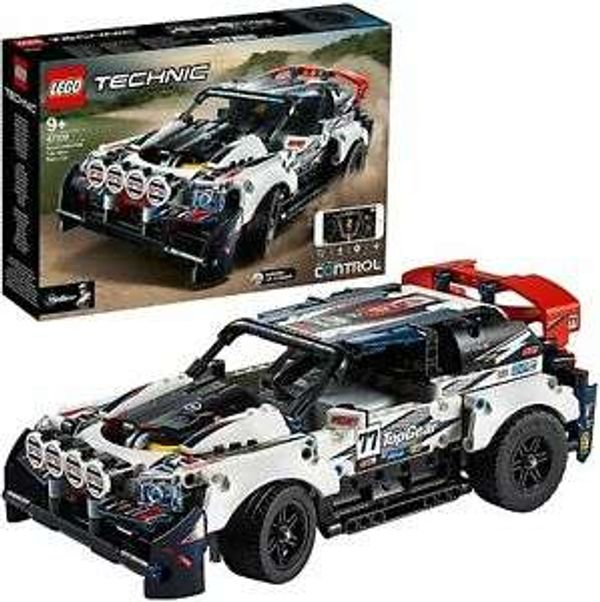 42109 LEGO Technic App-Controlled Top Gear Rally Car 463 Pieces Age 9 Years+