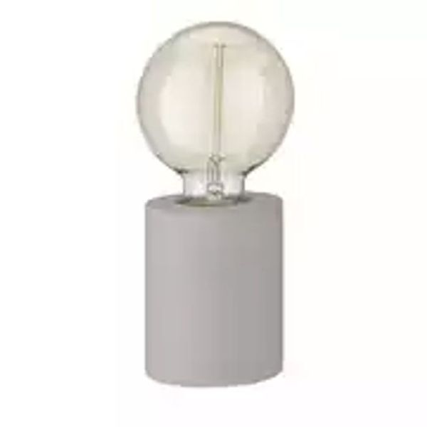 Home Concrete Table Lamp - Grey