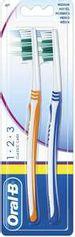 Save 70% - Oral-B 1-2-3 Classic Care Manual Medium Toothbrush