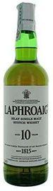 Save 30% - Laphroaig 10 Year Old Islay Single Malt Scotch Whisky, 70 cl